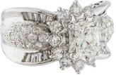 Ring Diamond Cluster Engagement