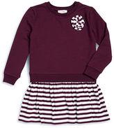Kate Spade Girls 2-6x Mock Layer Rosette Dress