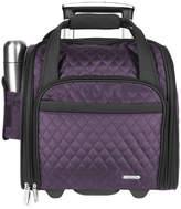Travelon Eggplant Rolling Carry-On & Backup Bag Set