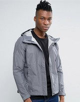 The North Face Venture 2 Jacket In Dark Grey Heather