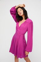 Free People Double Life Mini Dress