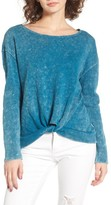 RVCA Women's Knotted Hem Pullover