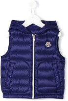 Moncler padded vest - kids - Feather Down/Polyamide - 8 yrs