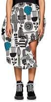 Junya Watanabe Comme des Garçons Women's Multi-Print Bonded Cotton Circle Skirt