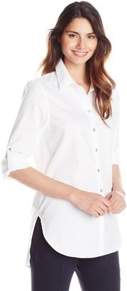 Calvin Klein Women's Non Iron Shirting Tunic