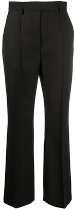 Acne Studios Tailored High-Waisted Cropped Trousers