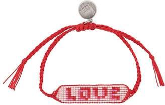 Venessa Arizaga Love beaded bracelet