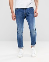 Firetrap Slim Fit Jean With Button Fastening Fly