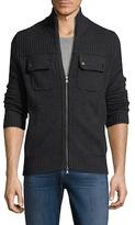 Saks Fifth Avenue Wool Motorcycle Jacket