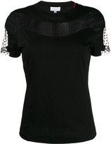 Escada Sport lace insert T-shirt