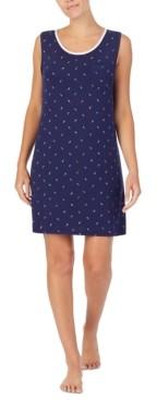 Nautica Printed Sleeveless Nightgown