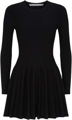 Alexander Wang Shortrowed Long Sleeved Dress