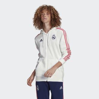 adidas Real Madrid 3-Stripes Hoodie