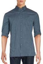 John Varvatos Check Pattern Shirt
