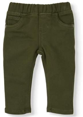 Wonder Nation Baby Boy Knit Colored Denim Pants