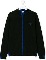 Armani Junior zip up sweatshirt