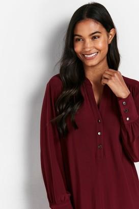 Wallis Berry Button Detail Shirt