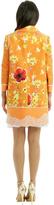 Peter Som Floral Tweed Coat