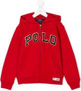 Ralph Lauren logo hoodie