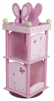 Levels of Discovery Sugar Plum Revolving Bookcase - Pink
