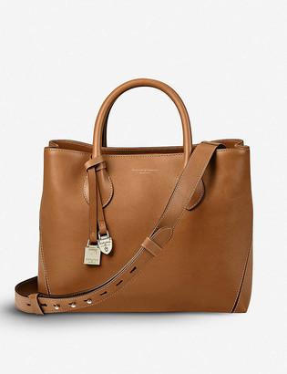 Aspinal of London London midi leather tote bag