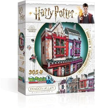 Licensed Character Wrebbit3D Harry Potter Quality Quidditch Supplies & Slug & Jiggers Puzzle