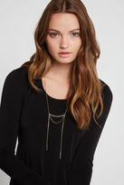 BCBGeneration Delicate Lariat Necklace - Gold