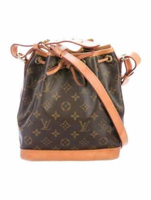 Louis Vuitton Monogram Noe BB Brown