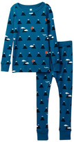 Tea Collection Mount Kita Fitted 2-Piece Pajama (Toddler, Little Boys, & Big Boys)
