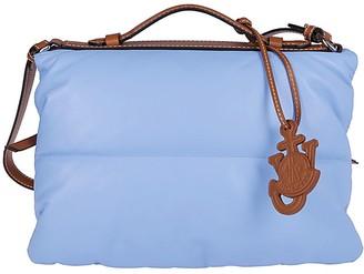 MONCLER GENIUS Light Blue Technical Fabric Tote Bag