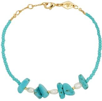 Anni Lu Emmanuelle Turquoise Beaded Bracelet