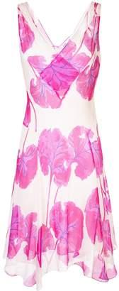 Diane von Furstenberg floral flared midi dress