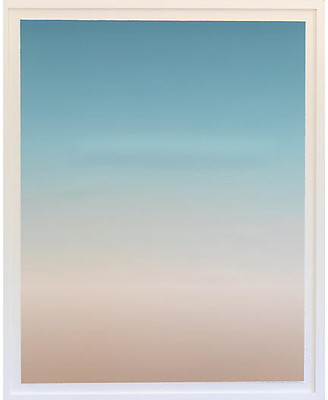 "Dawn Wolfe Design Dawn Wolfe - Seaside Ombre-White 30""L x 24""W x 2""D"