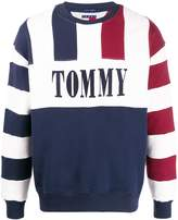 Tommy Jeans striped relaxed-fit sweatshirt