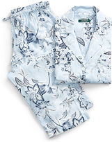 Ralph Lauren Petite Floral Lawn Pajama Set