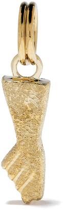 Feidt Paris 9kt Yellow Gold Small Hand Charm