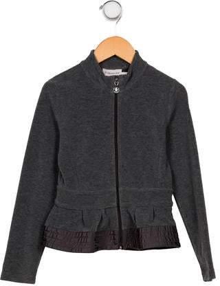 55192ba31 Girls' Flared Velvet Jacket