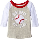 Mud Pie 1st Birthday All-Star Raglan T-Shirt Boy's T Shirt