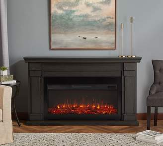 Pottery Barn Real Flame®; Carlisle Grand Electric Fireplace