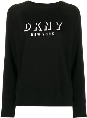 DKNY Logo Printed Sweatshirt