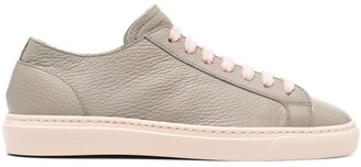 Doucal's Two-Tone Leather Trainers