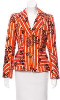 Christian Lacroix Structured Striped Blazer