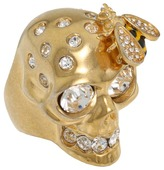 Alexander McQueen Skull Cocktail Ring