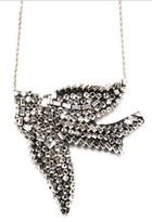 Shourouk Vintage Bird Necklace