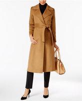 Trina Turk Cashmere Maxi Wrap Coat
