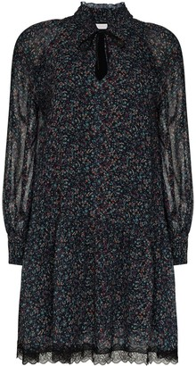 See by Chloe Floral-Print Mini Dress