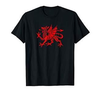 Dragon Optical Wales Cymru Red Welsh Flag Shirt