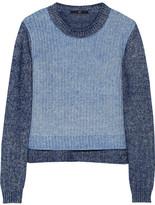 Tibi Marled cotton-blend sweater