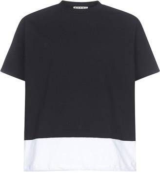 Marni Back Logo Cotton T-shirt