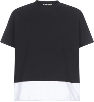 Marni Logo Back Short Sleeve T-shirt